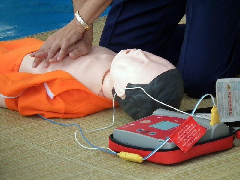หยุดวิกฤตหัวใจหยุดเต้นด้วยเครื่อง AED thaihealth