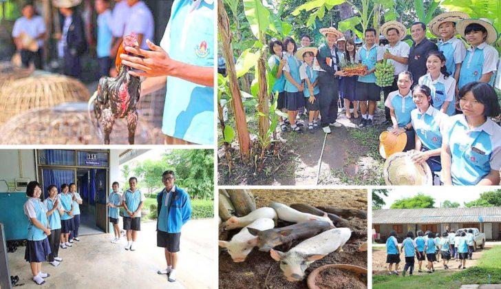 รร.น้ำขุ่นวิทยา ต้นแบบการจัดการศึกษาเพื่อพัฒนา นร. thaihealth