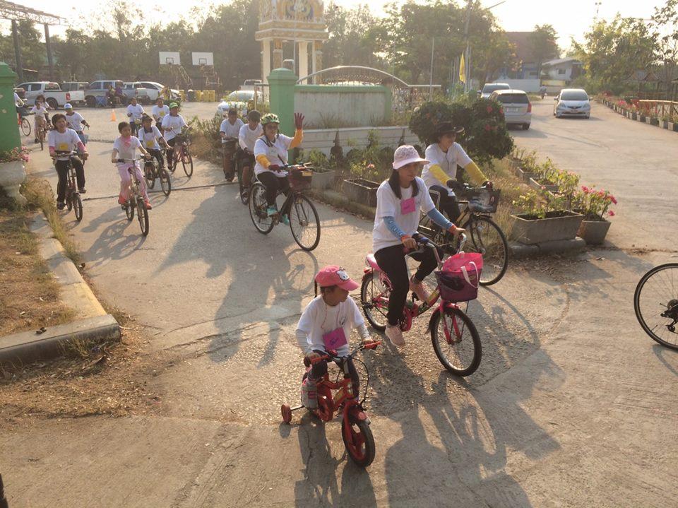 ชุมชนจักรยาน ต.คลองจิก เพื่อสุขภาวะ  thaihealth