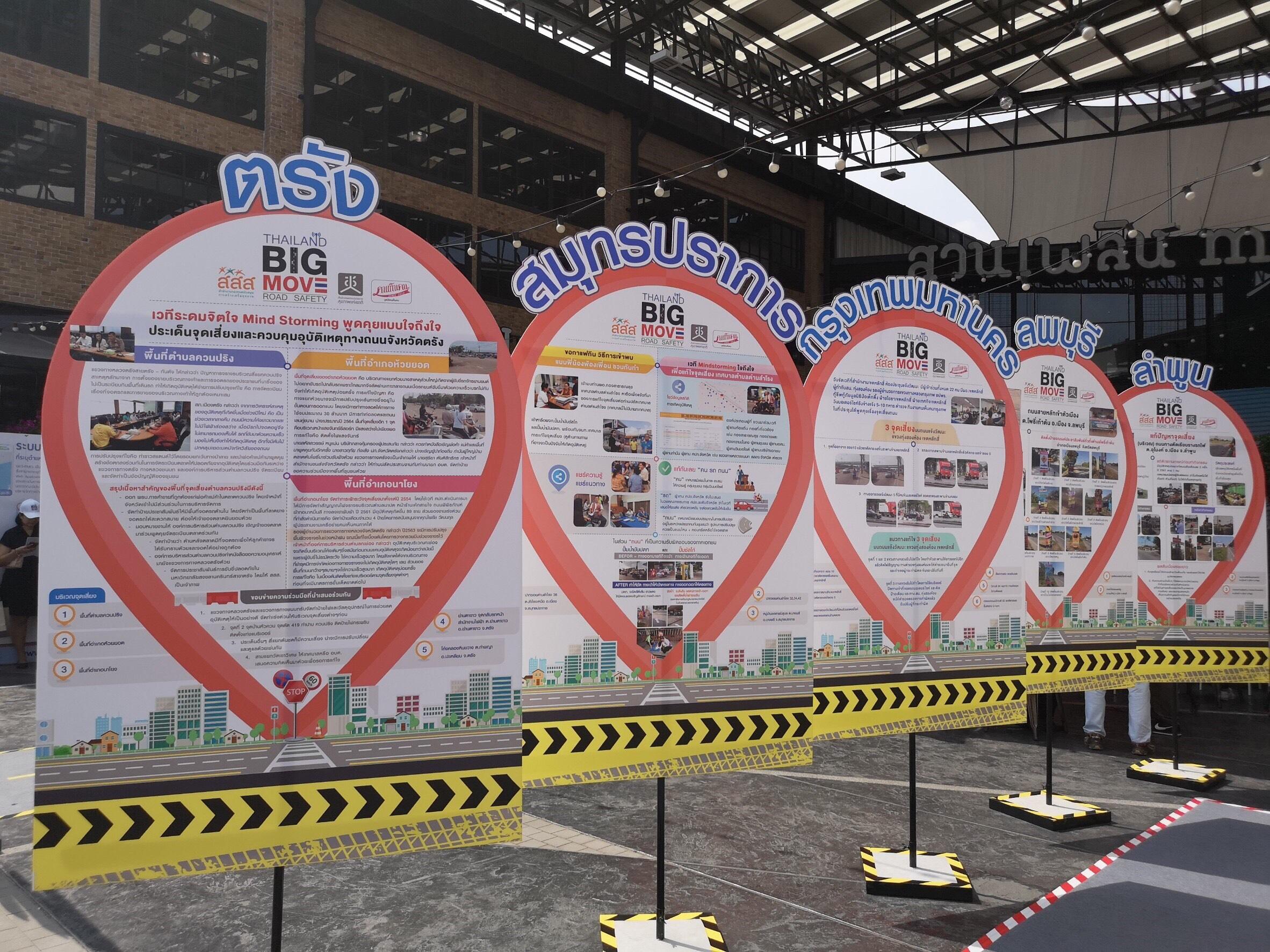 """เปิดกิจกรรม """"Thailand Big move Road Safety"""" รณรงค์ลดอุบัติเหตุ thaihealth"""