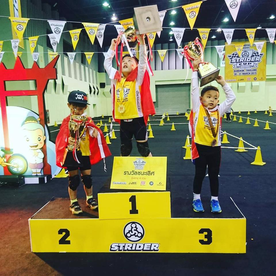 แชมป์จักรยานทรงตัวเด็ก thaihealth