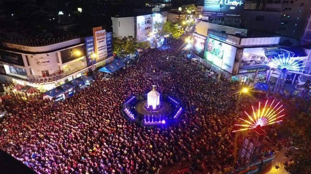 สงกรานต์ จ.ขอนแก่น ทำคลื่นมนุษย์นานที่สุดในโลก thaihealth