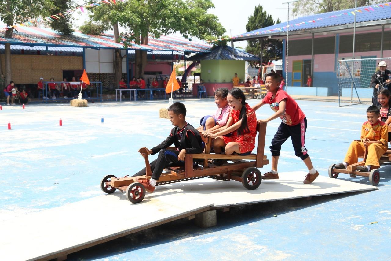 โครงการ 'สุขภาพดี วิถีชนเผ่า' โรงเรียนบ้านห้วยเฮี่ยน thaihealth