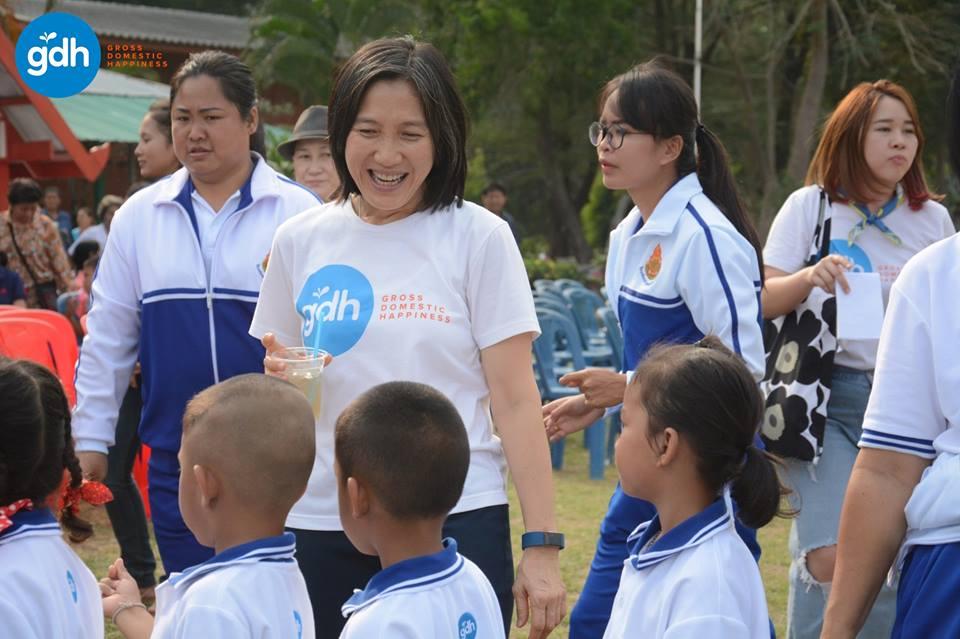 สุขนิยมแบบ GDH องค์กรเสริมสร้างความสุข thaihealth