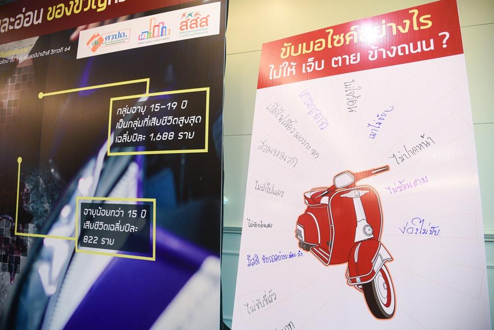 สถิติอุบัติเหตุ ปิดเทอมสะเทือนใจ thaihealth