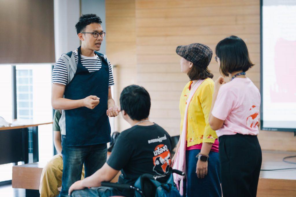 'การละครของผู้ถูกกดขี่' Spiritual Talks on Campus #3 thaihealth