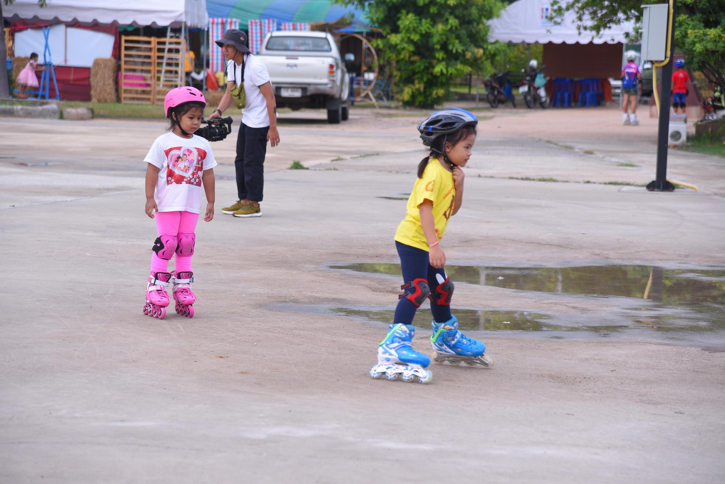 นำร่องแก้ปัญหาเด็กติดเกมด้วยกีฬาโรลเลอร์เบลด thaihealth