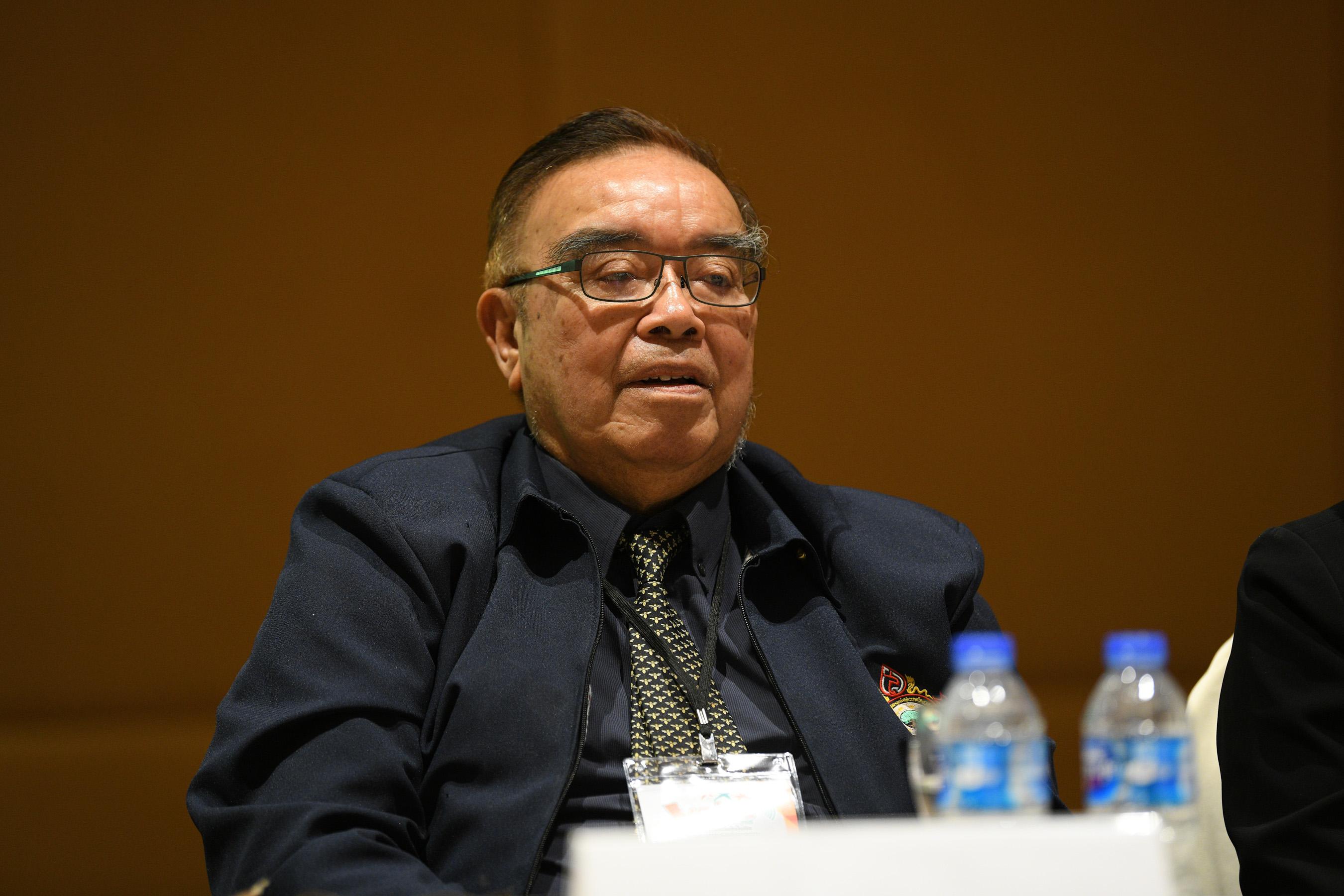 นพ.พงษ์ศิริ ปรารถนาดี รองประธานสมาคมสภาผู้สูงอายุแห่งประเทศไทย
