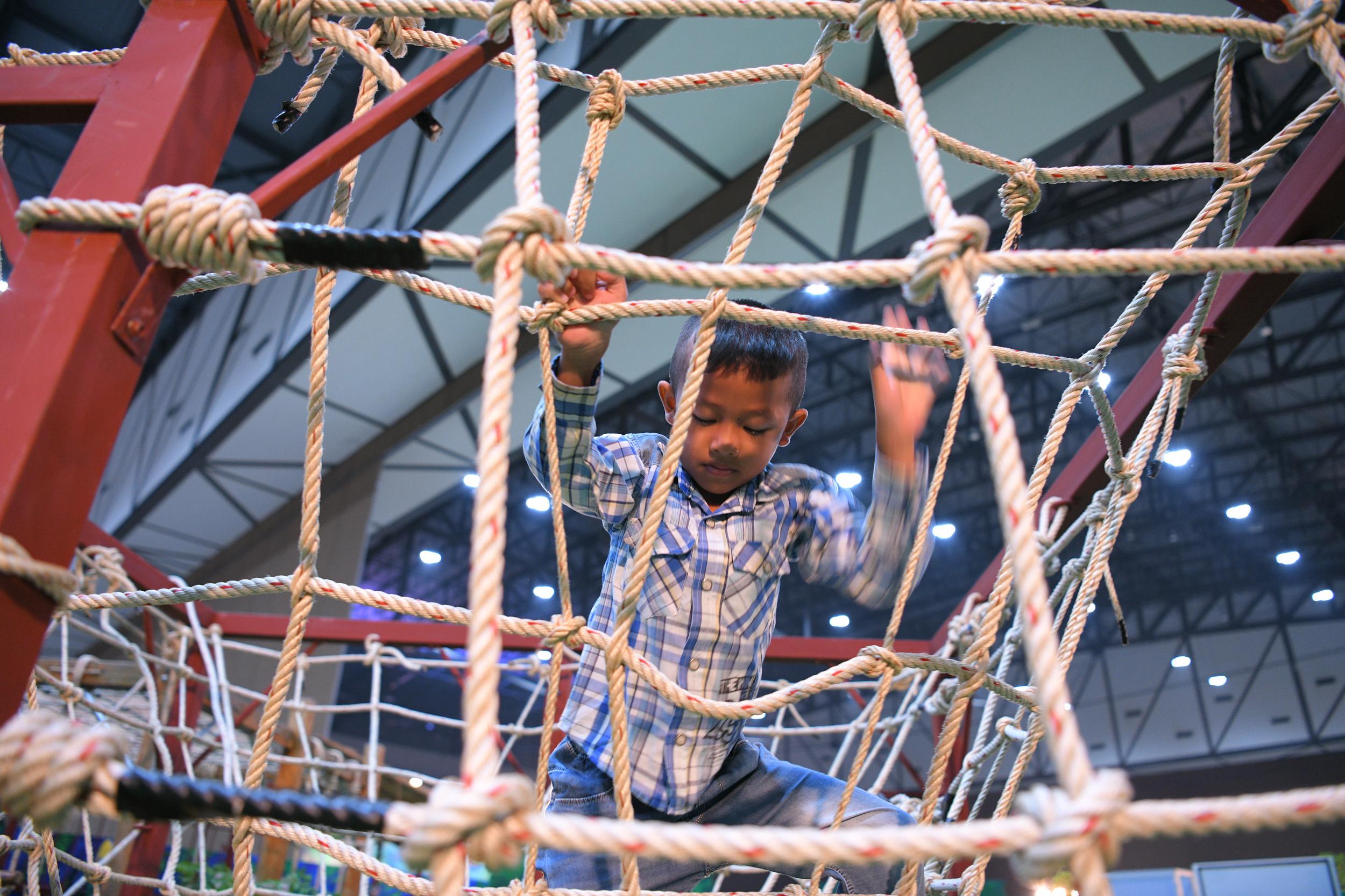สนามเด็กเล่นสร้างปัญญา นวัตกรรมกระตุ้นพัฒนาการเด็กปฐมวัย thaihealth
