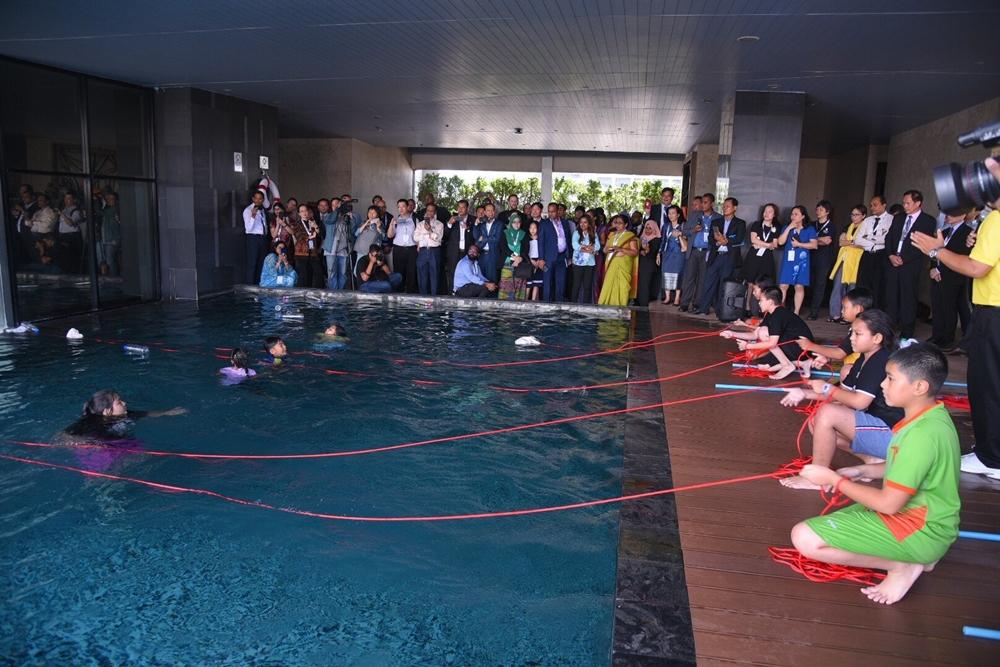 ไทยชูความสำเร็จลดเด็กจมน้ำเหลือร้อยละ 50 ในปี 61 thaihealth