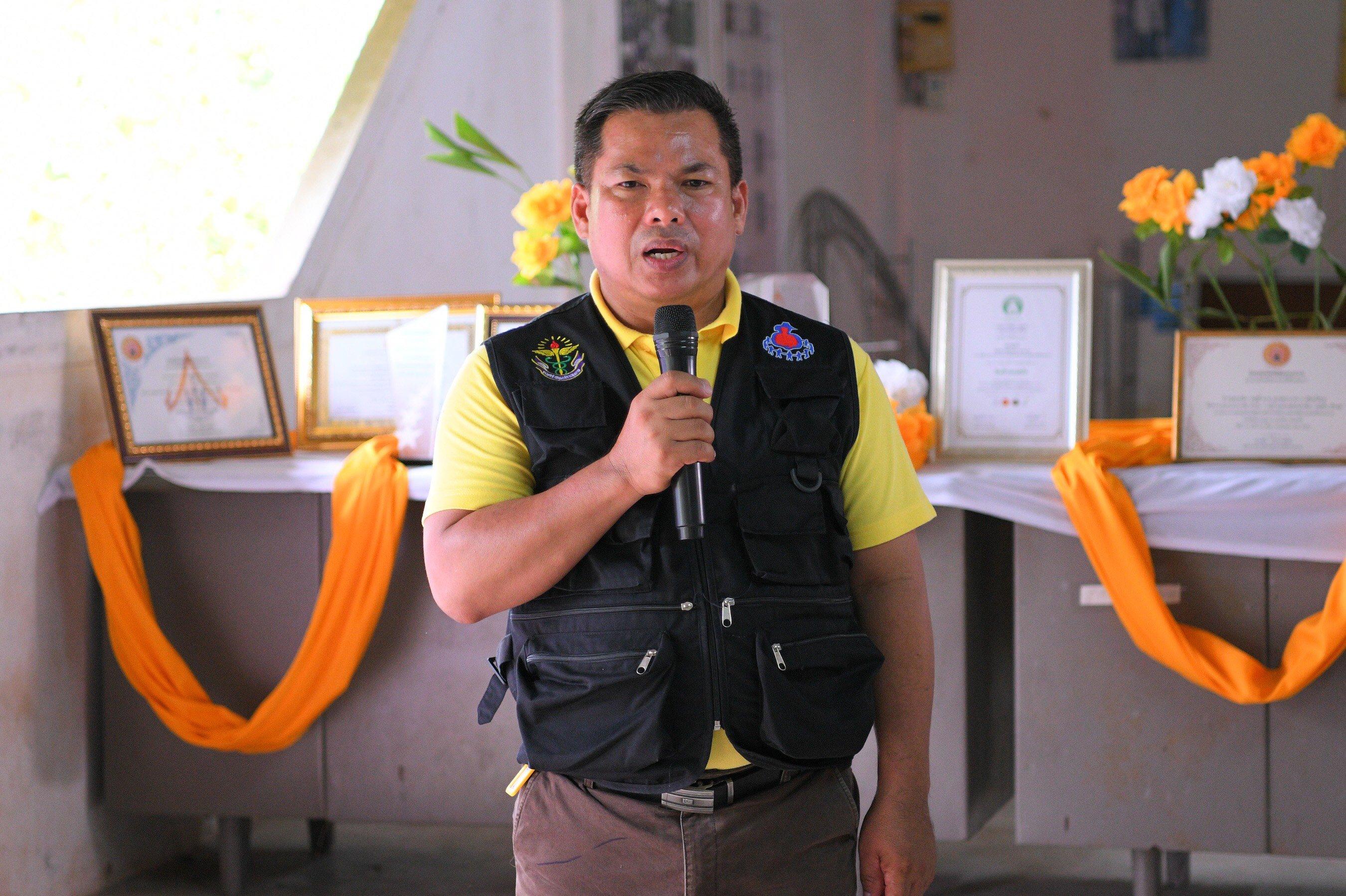 ต้นแบบพื้นที่สร้างเสริมสุขภาพ ชุมชนน่าอยู่บ้านดอนโรง  thaihealth
