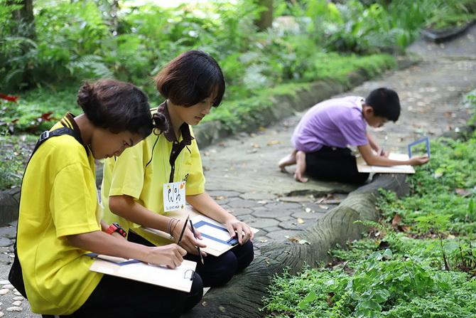 ชูศิลปะสร้างสุขฟื้นฟูเด็กกลุ่มเปราะบางทางพฤติกรรม thaihealth