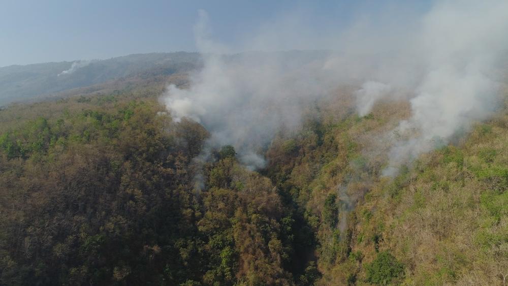 สงขลา หมอกควันไฟป่าปกคลุม ส่งผลต่อสุขภาพ thaihealth