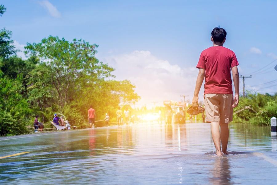 วิธีดูแลโรคติดเชื้อที่ผิวหนังหลังภาวะน้ำท่วมขัง thaihealth