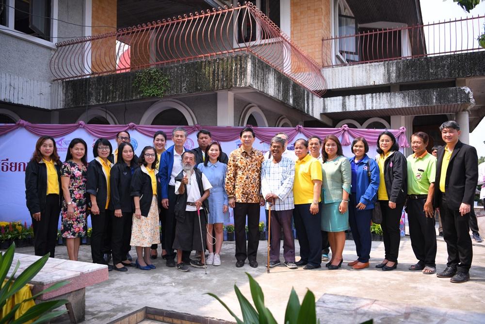 สร้างศูนย์ฟื้นฟูฯ คนไร้บ้านแห่งที่ 3  thaihealth