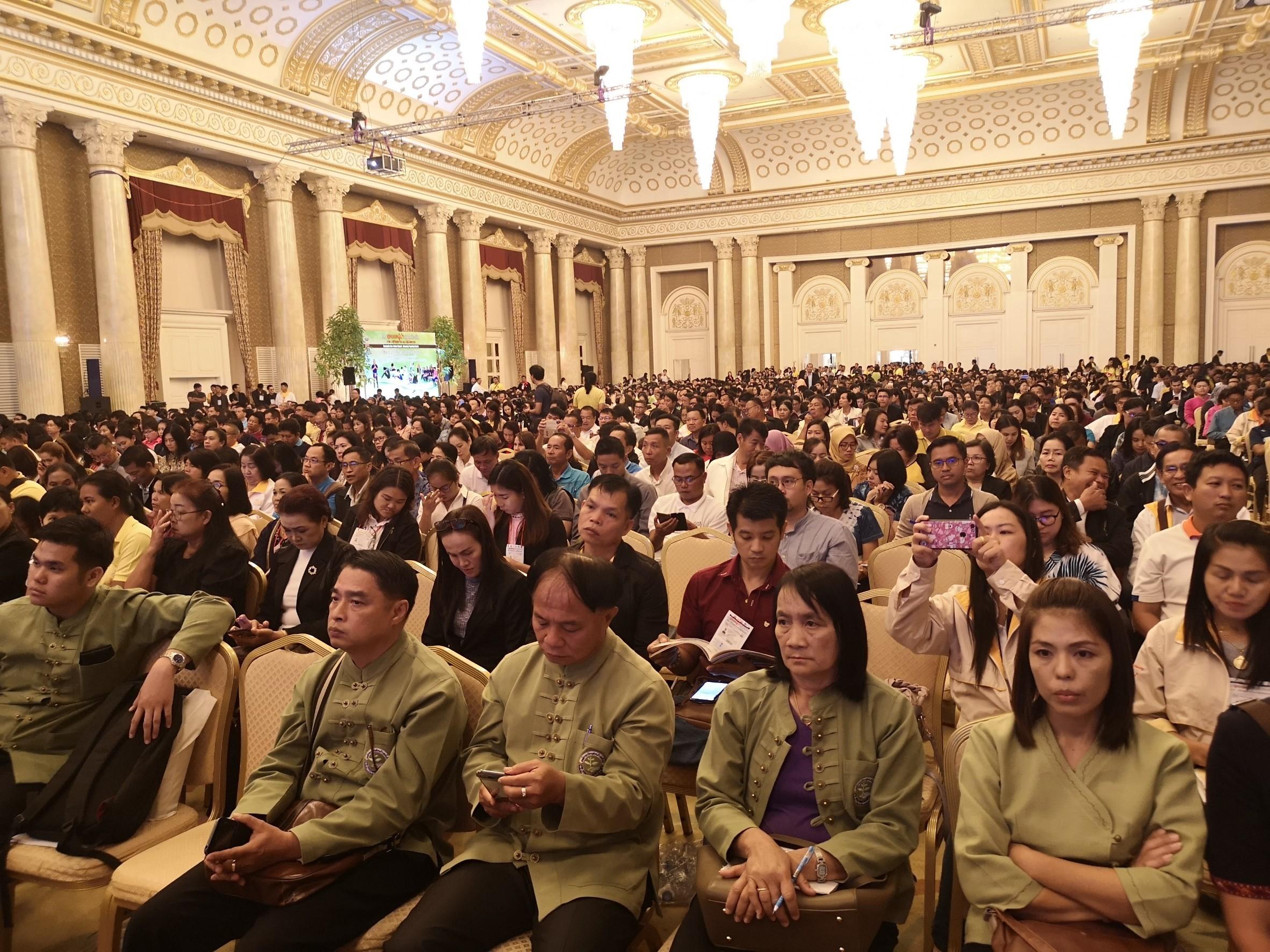 เปิดเวทีสุดยอดผู้นำท้องถิ่น สร้างสุขภาวะ 13 กลุ่ม thaihealth