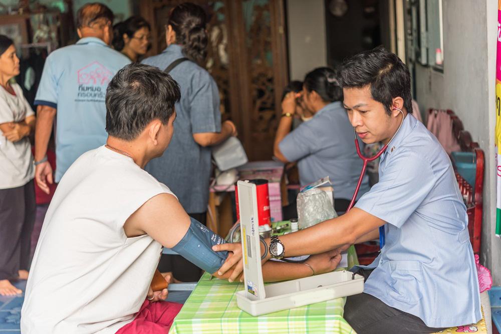 เพิ่มบริการเครื่องวัดความดันด้วยตัวเอง thaihealth