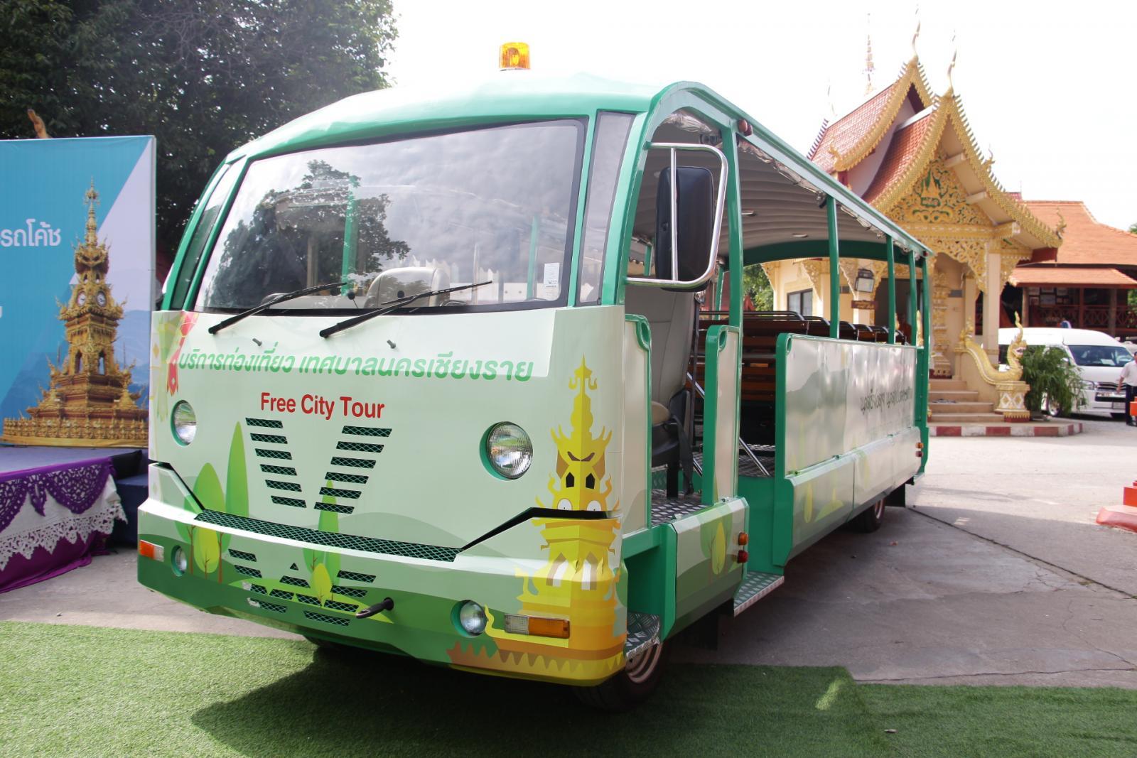 เปิดโครงการท่องเที่ยวโดยรถราง สัมผัสวิถีชุมชน thaihealth