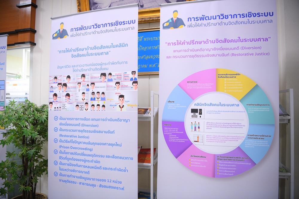 สสส. - ศาลอาญาธนบุรี เปิดบ้านเยี่ยมชมคลินิกจิตสังคมในระบบศาล thaihealth