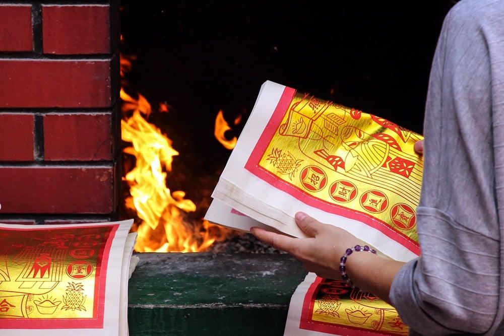 รณรงค์งดเผากระดาษช่วงตรุษจีน ลดมลพิษทางอากาศ thaihealth