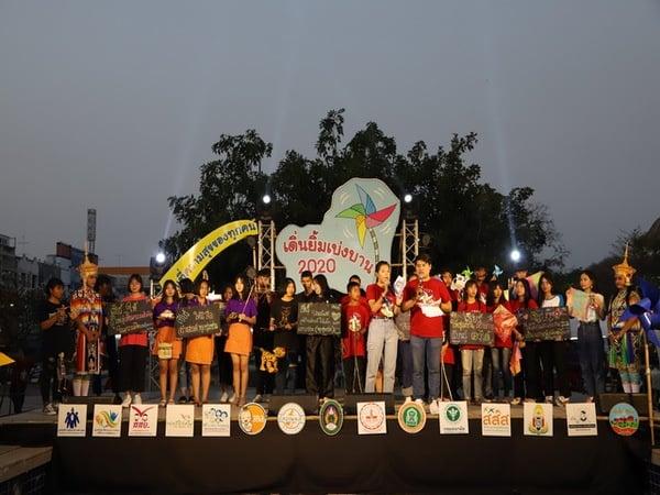 เยาวชนรวมพลังส่งเสียงเชียร์เทศกาลโคราชยิ้ม ปี 3  thaihealth