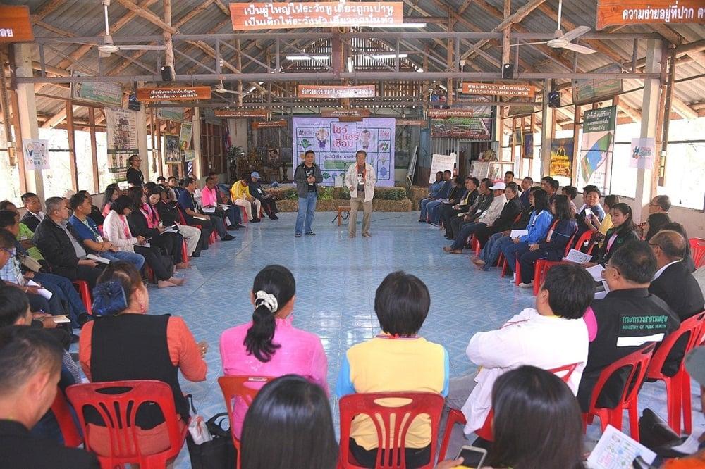 โชว์แชร์เชื่อม สานพลังเกษตรอินทรีย์หนองบัวลำภู thaihealth