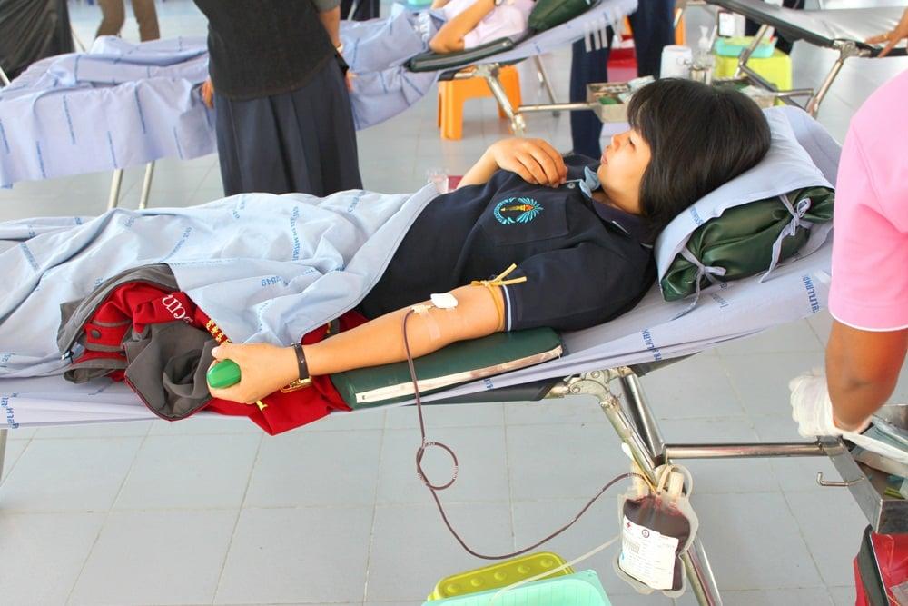ออกมาตรการป้องกันบริจาคเลือด thaihealth