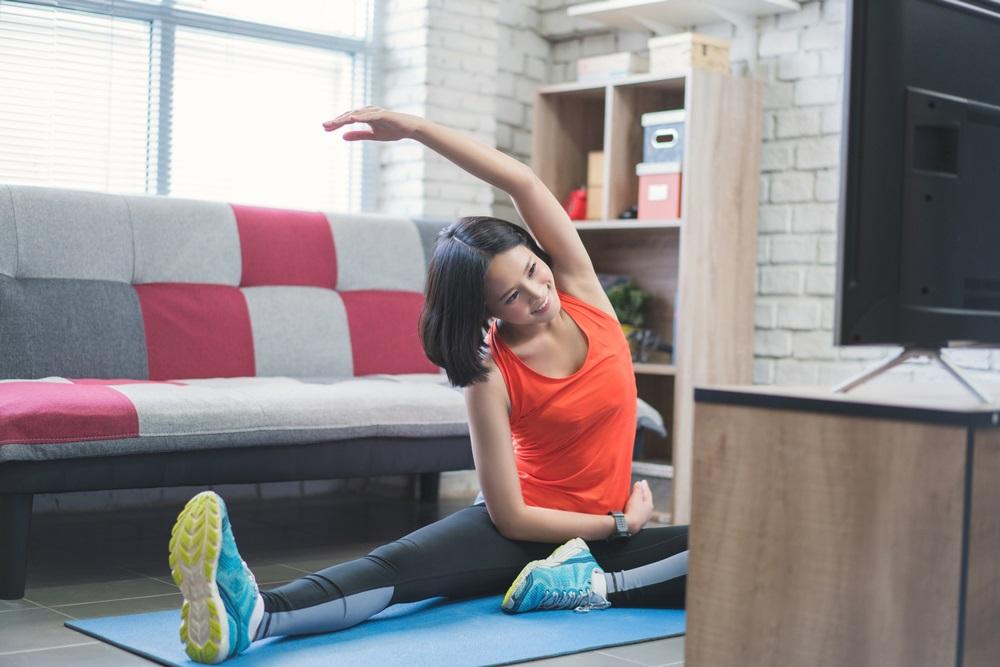 อยู่บ้านออกกำลังกายไม่เสี่ยงโควิด-19 thaihealth