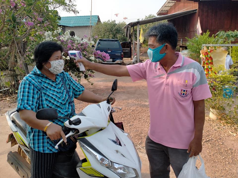 วาปีปทุม-ไทรย้อย เครือข่ายตำบลต้านโควิด-19 ลดภาระหมอ-พยาบาล thaihealth