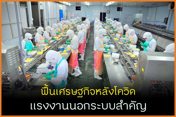 ฟื้นเศรษฐกิจหลังโควิด แรงงานนอกระบบสำคัญ thaihealth