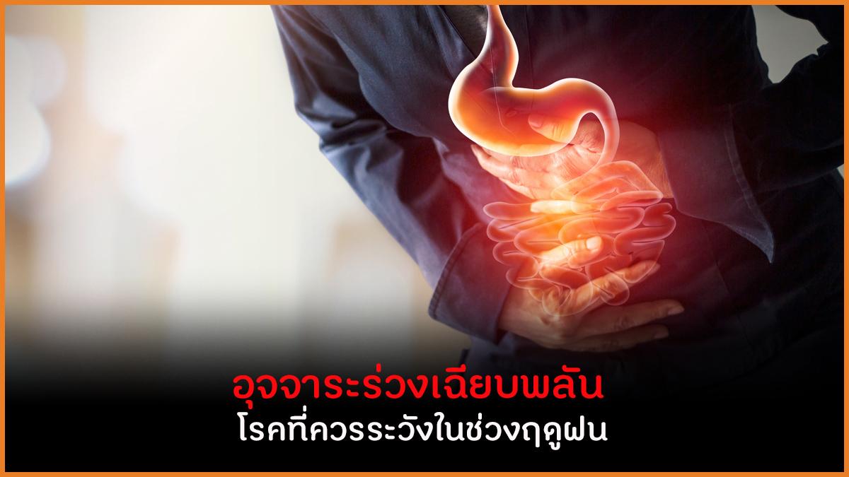 อุจจาระร่วงเฉียบพลัน  โรคที่ควรระวังในช่วงฤดูฝน thaihealth