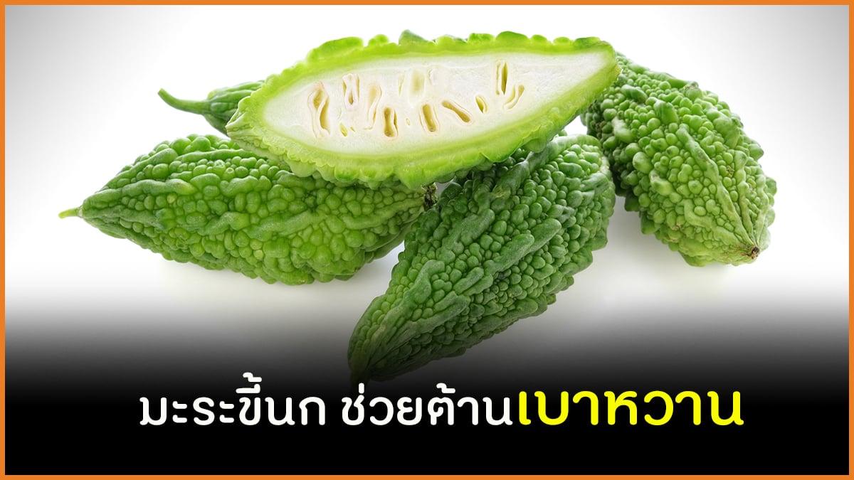 มะระขี้นก ช่วยต้านเบาหวาน thaihealth