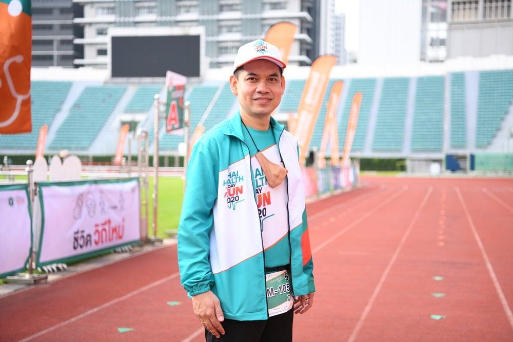 สสส. ย้ำนักวิ่งเตรียมพร้อมก่อนลงสนาม ลดความเสี่ยงสุขภาพ thaihealth