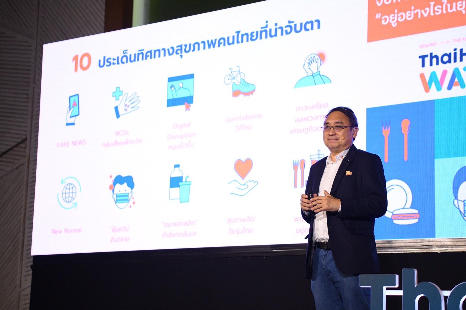 สสส.เจาะลึกทิศทางสุขภาพคนไทย ปี 2564 thaihealth