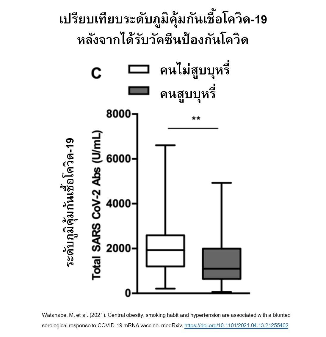 ชวนคนไทยเลิกสูบบุหรี่ระหว่างรอฉีดวัคซีน ช่วยภูมิคุ้มกันฟื้นตัวดีขึ้น thaihealth