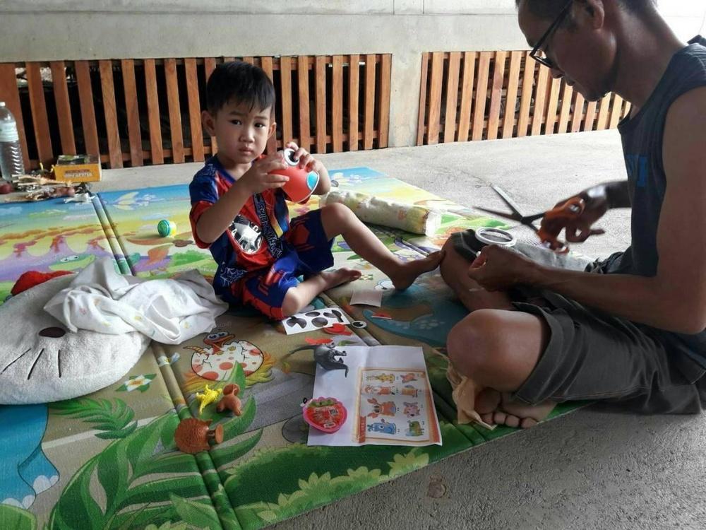 ส่งกล่องมหัศจรรย์ ส่งเสริมพัฒนาการเด็ก สู้โควิด-19 thaihealth