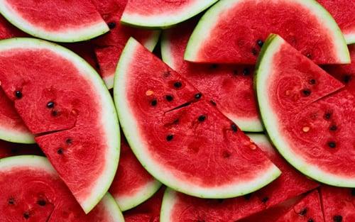 เครือข่าย คนกินเจ และมังสวิรัติ-แตงโม แดงจัดฉีดสีหรือไม่-1