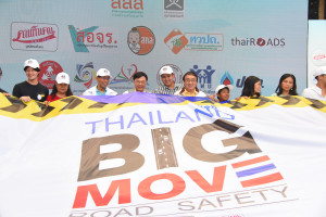Thailand Big move Road Safety